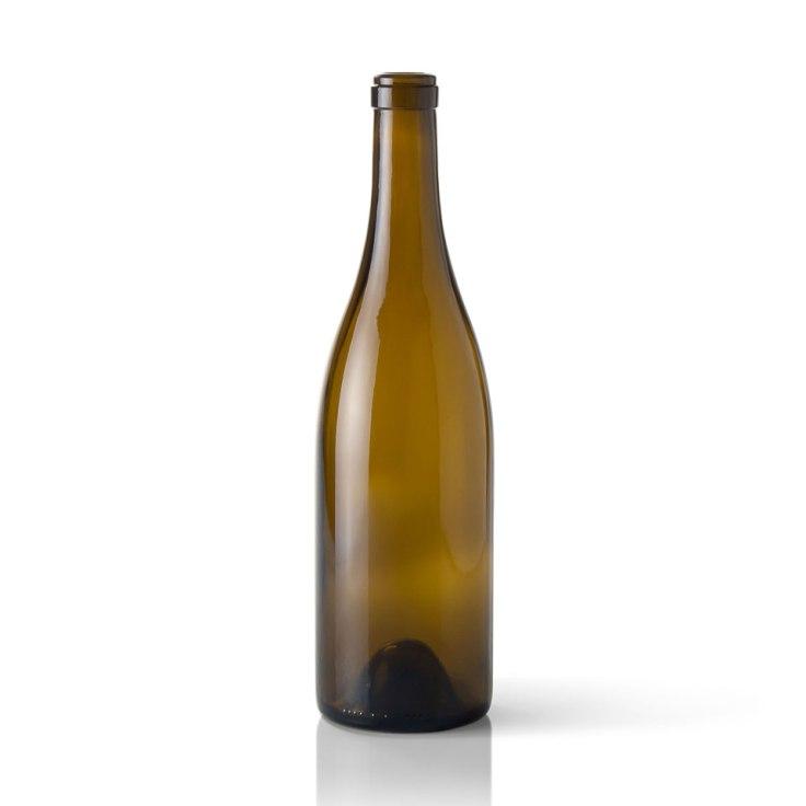 Bottiglia vino borgognona borgognotta