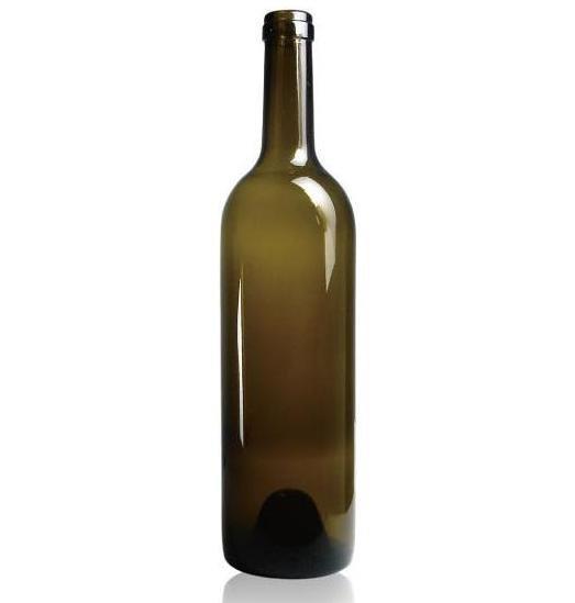 Bottiglia vino bordeaux bordolese