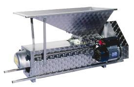 Pigiadiraspatrice elettrica in acciaio inox